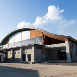 遠野北小学校屋内運動場